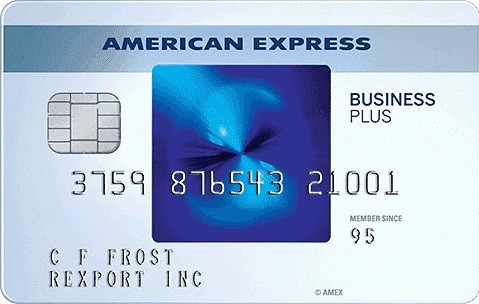American Express The Blue Business Plus Credit Card