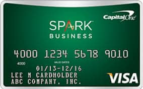 Capitol One Spark Cash For Business