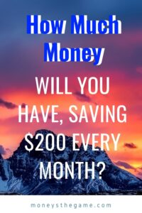 save $200 every month