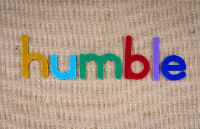 a sign that reads HUMBLE